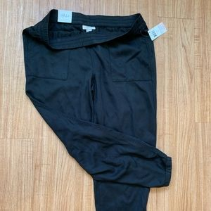 Style & co black jogger